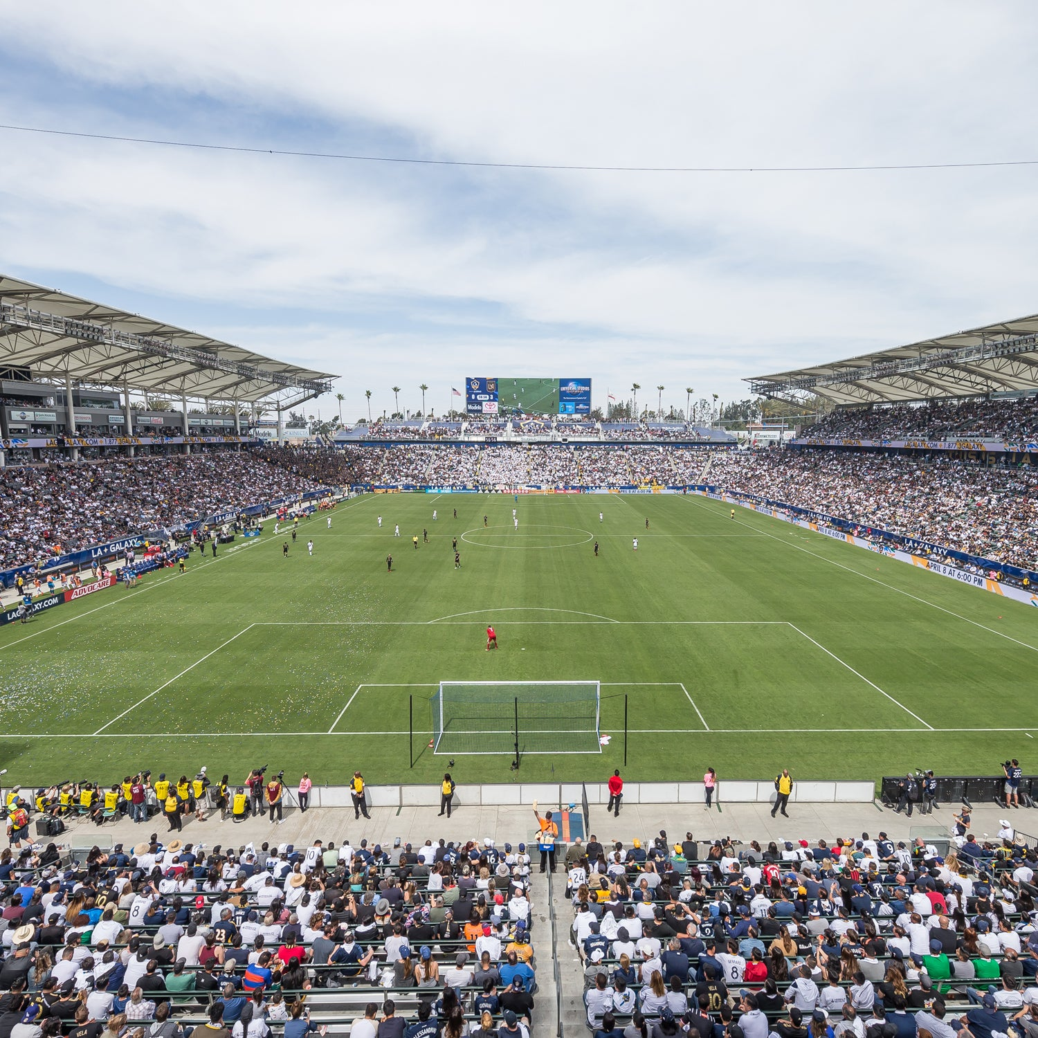 More Info for Dignity Health Sports Park announce facility upgrades ahead of 2019 LA Galaxy season