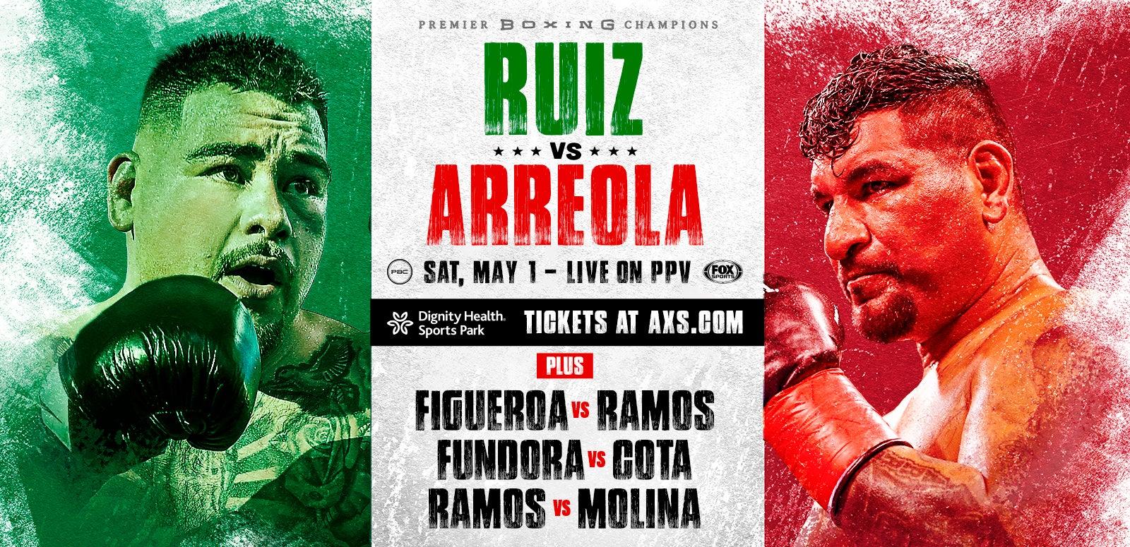 Premier Boxing Champions: Ruiz Jr. vs Arreola