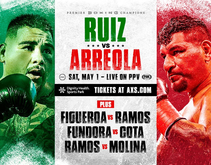More Info for Premier Boxing Champions: Ruiz Jr. vs Arreola