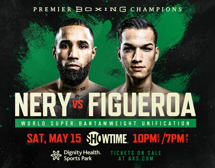 More Info for Premier Boxing Champions: Nery vs. Figueroa