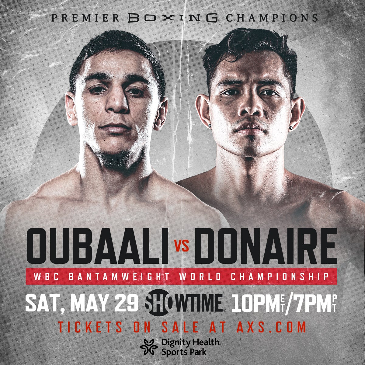 More Info for Premier Boxing Champions: Oubaali vs Donaire