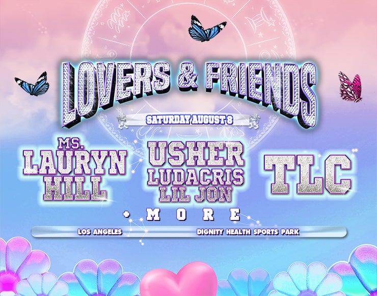 More Info for Lovers & Friends Festival rescheduled to Saturday, August 8