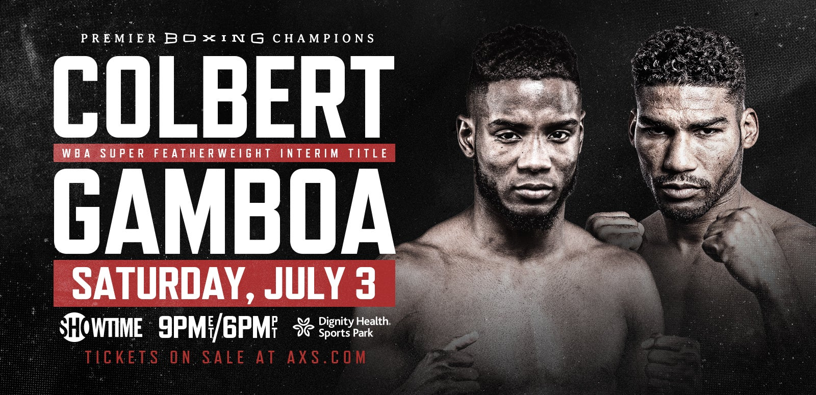 Premier Boxing Champions: Colbert vs Gamboa