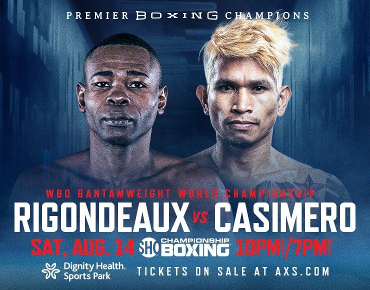 More Info for Premier Boxing Champions: Rigondeaux vs Casimero