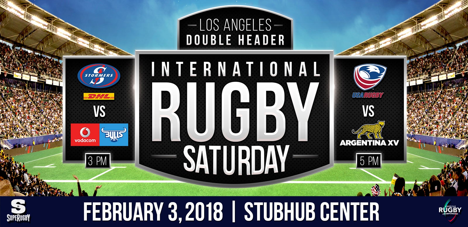 More Info for StubHub Center to host USA Rugby's Men's Eagles 2018 ARC campaign opener