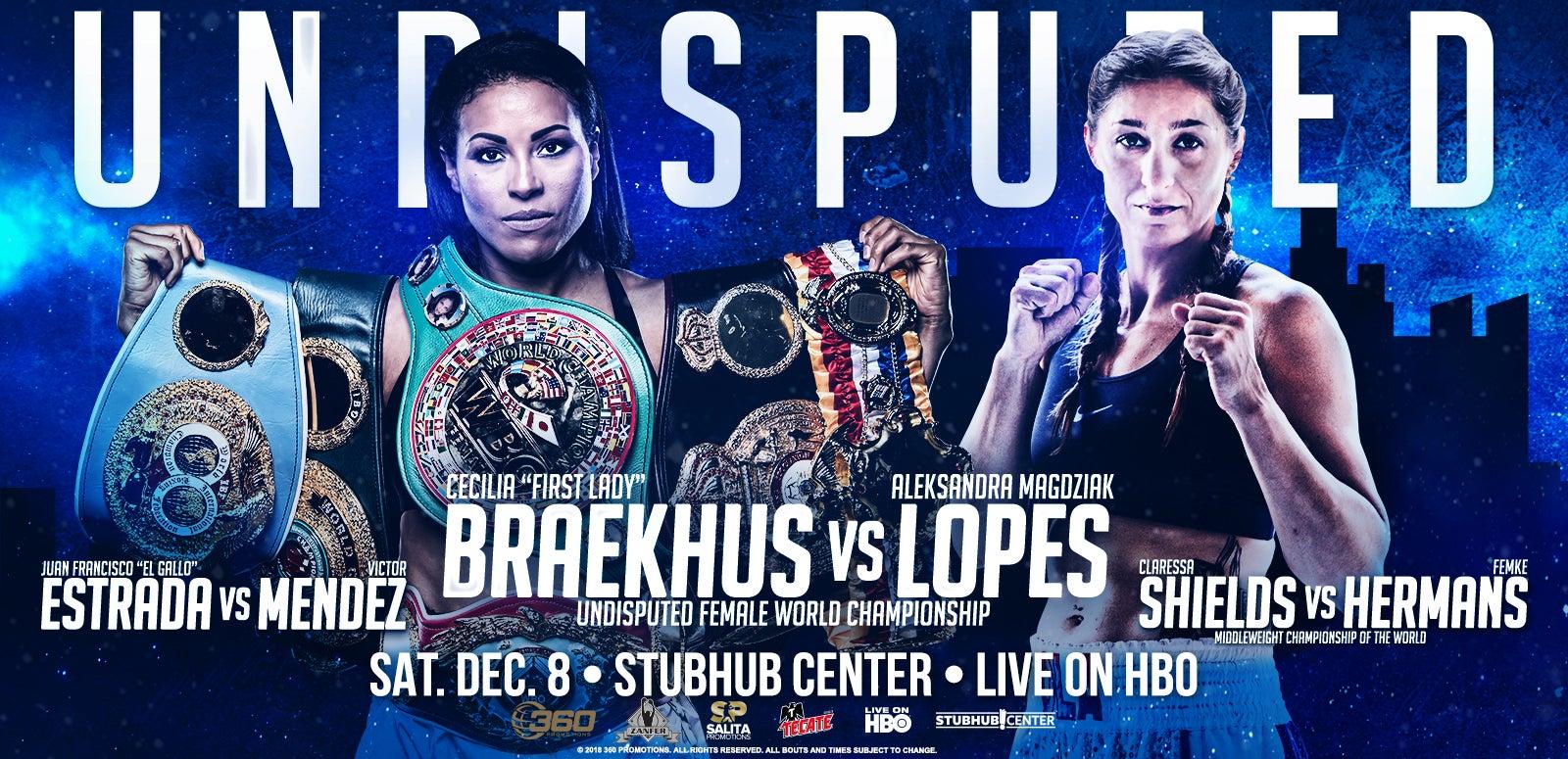 Braekhus vs. Lopes