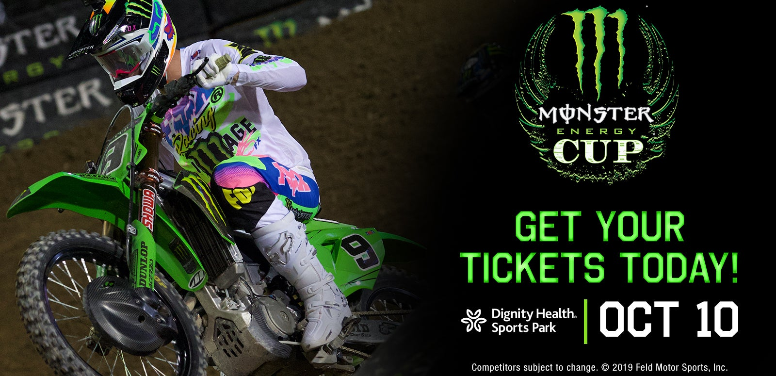 CANCELLED: Monster Energy Cup & Supercross Futures National Championship