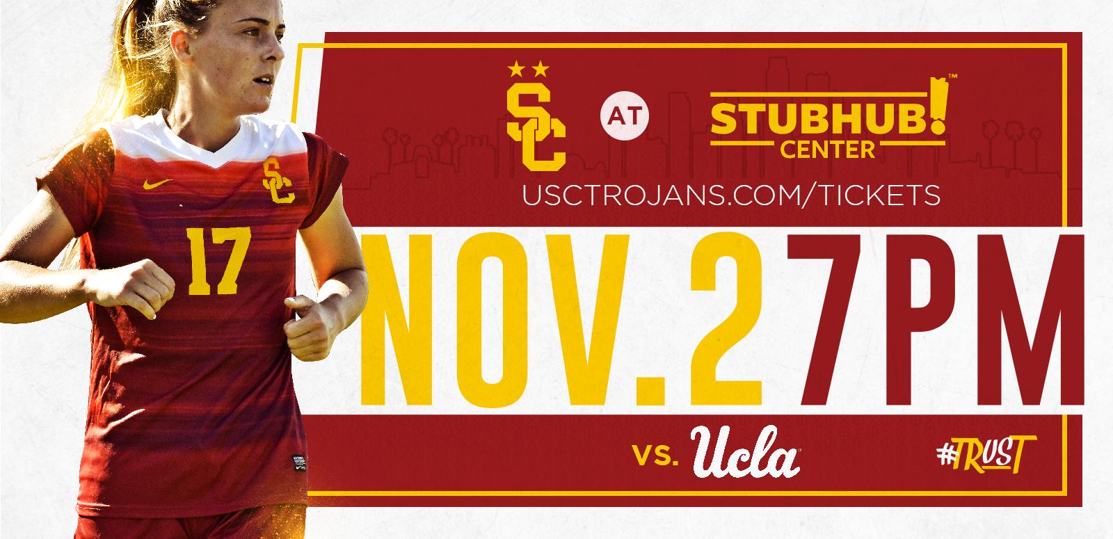 NCAA Women's Soccer: USC vs. UCLA