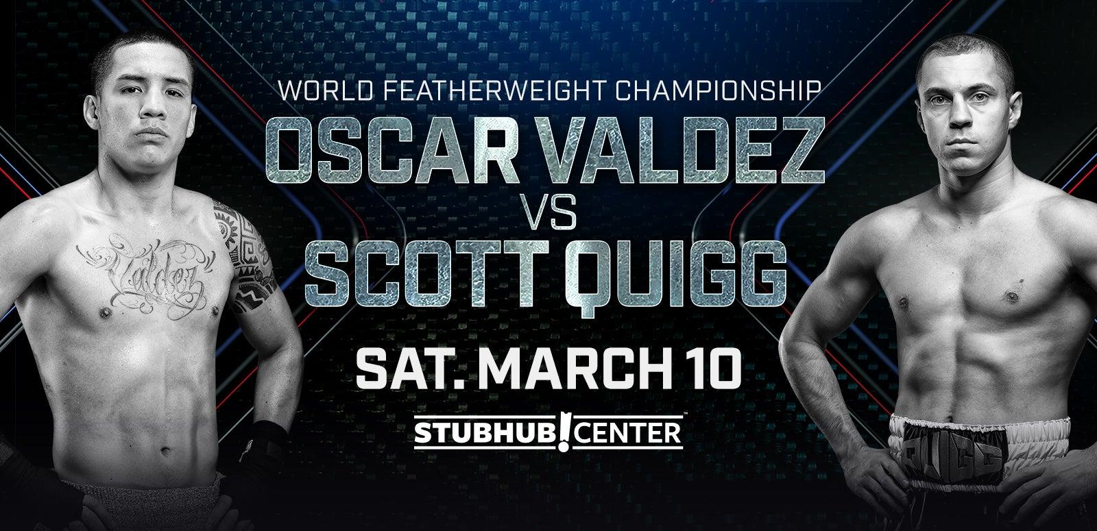 World Championship Boxing: Valdez vs. Quigg