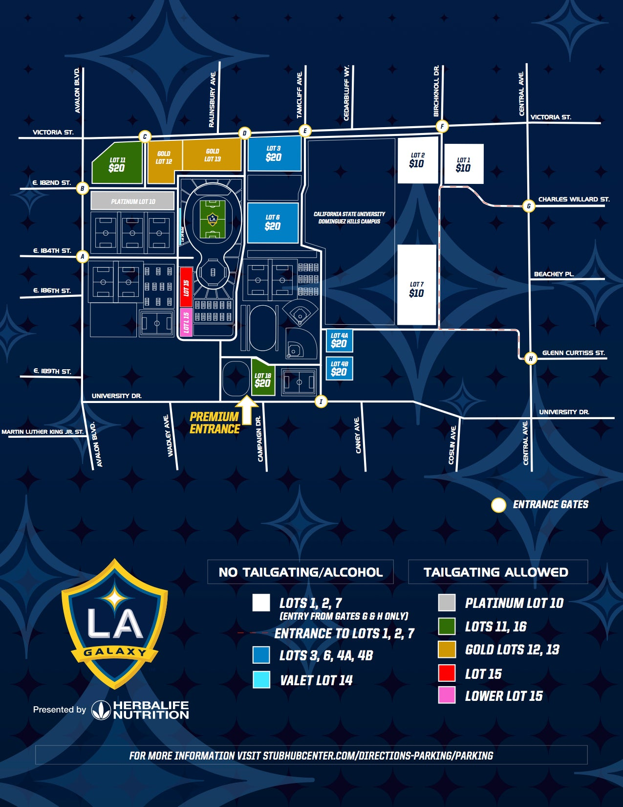 Parking And Traffic Information La Galaxy