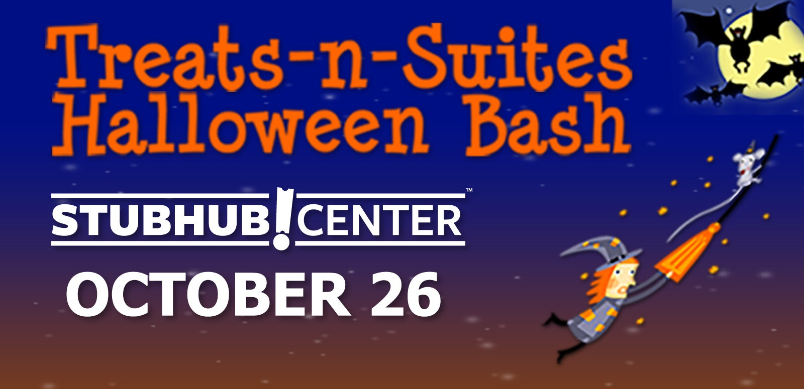 More Info for Treats-n-Suites Halloween Bash