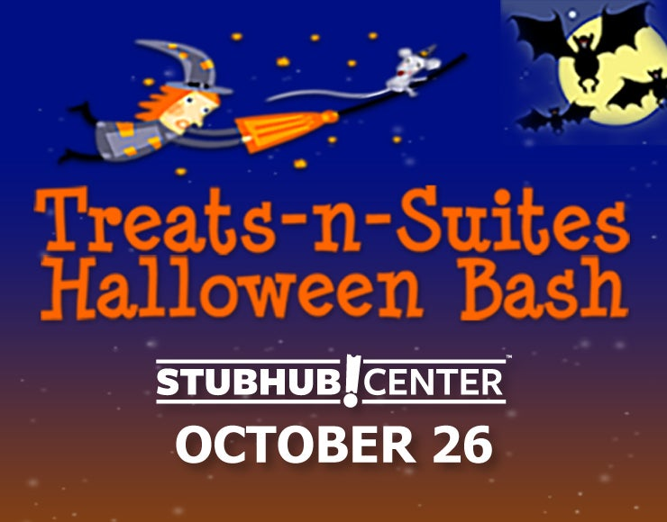 More Info for StubHub Center Foundation and LA Galaxy Foundation to host 12th annual Treats-N-Suites Halloween Bash at StubHub Center on Friday, Oct. 26