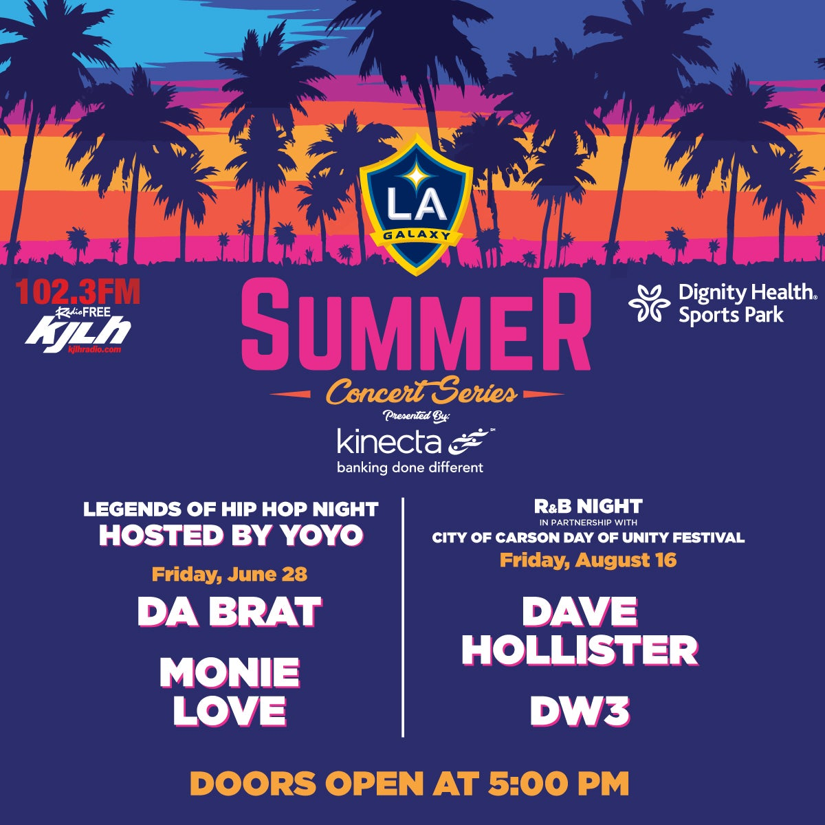 More Info for Summer Concert Series pres. by Kinecta | R&B Night