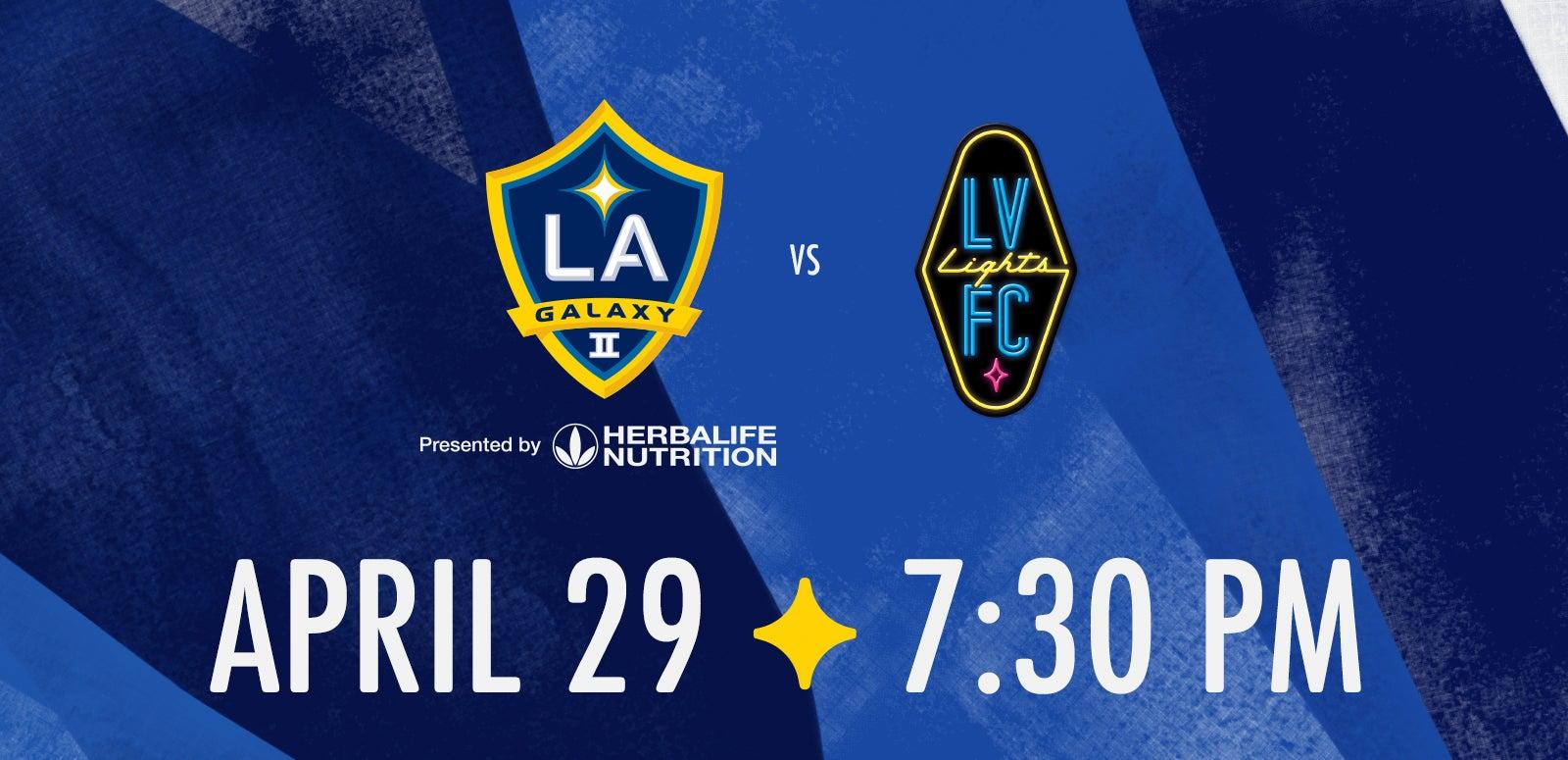 LA Galaxy II vs. Las Vegas Lights FC