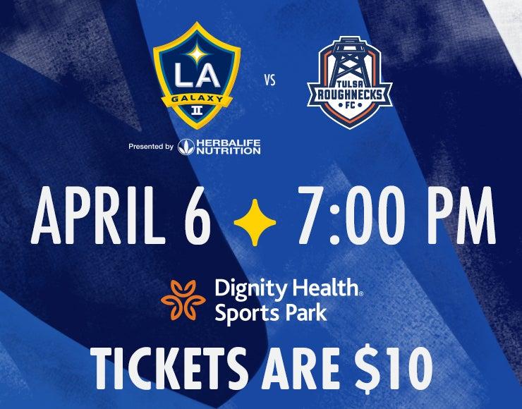More Info for LA Galaxy II vs. Tulsa Roughnecks FC