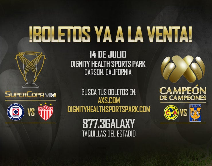 More Info for SuperCopa MX + Campeon de Campeones