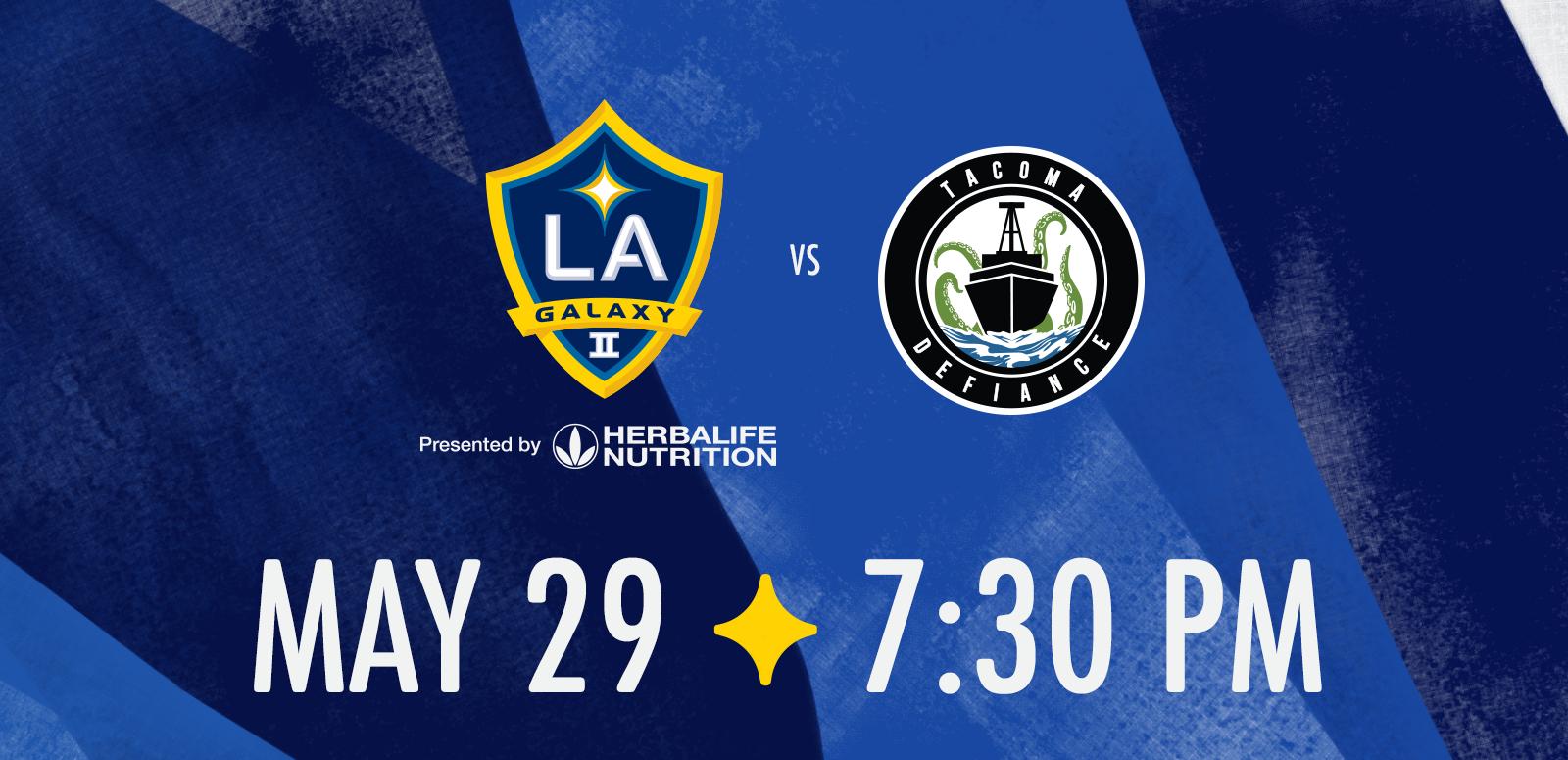 LA Galaxy II vs. Tacoma Defiance