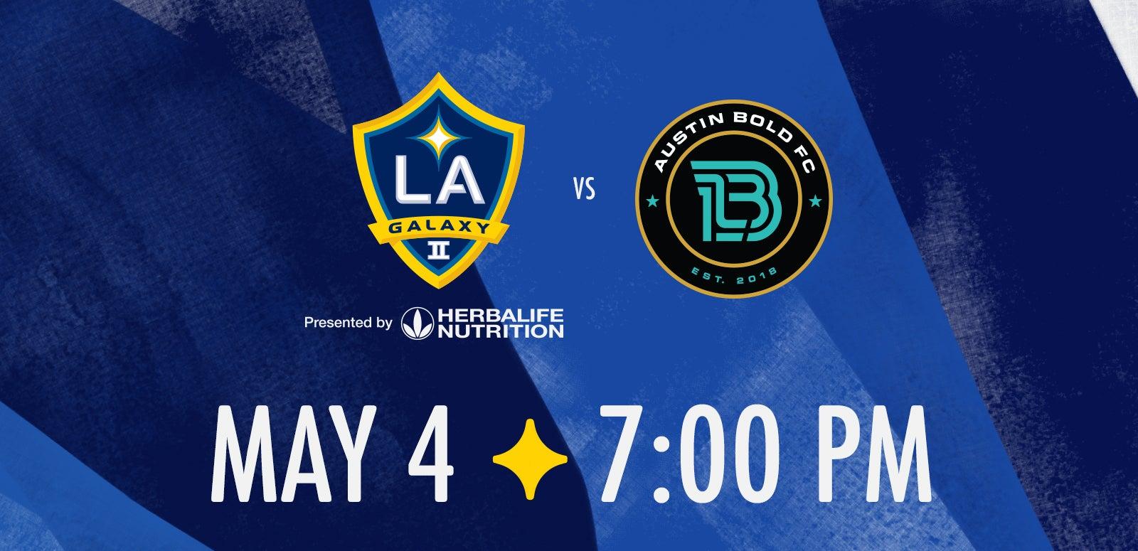 LA Galaxy II vs. Austin Bold FC