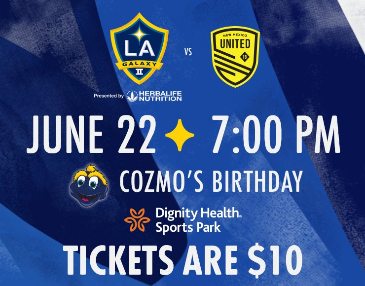 More Info for LA Galaxy II vs. New Mexico United
