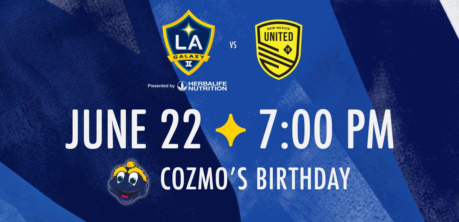 LA Galaxy II vs. New Mexico United