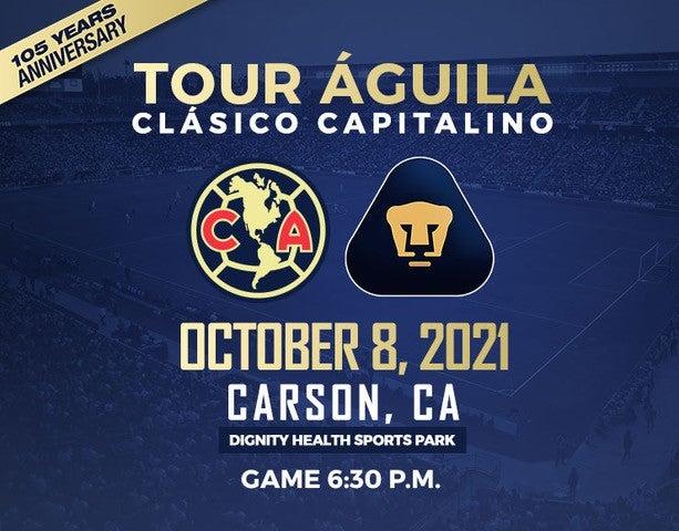 More Info for Tour Aguila: Club América vs Pumas UNAM