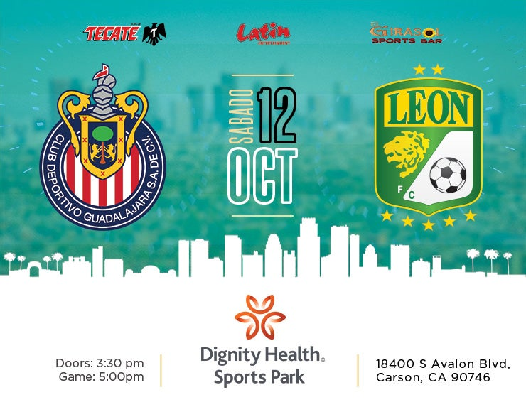 More Info for Chivas Guadalajara vs. Club Leon