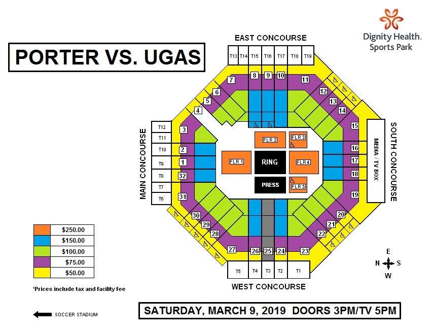 Porter vs. Ugas | Dignity Health Sports Park