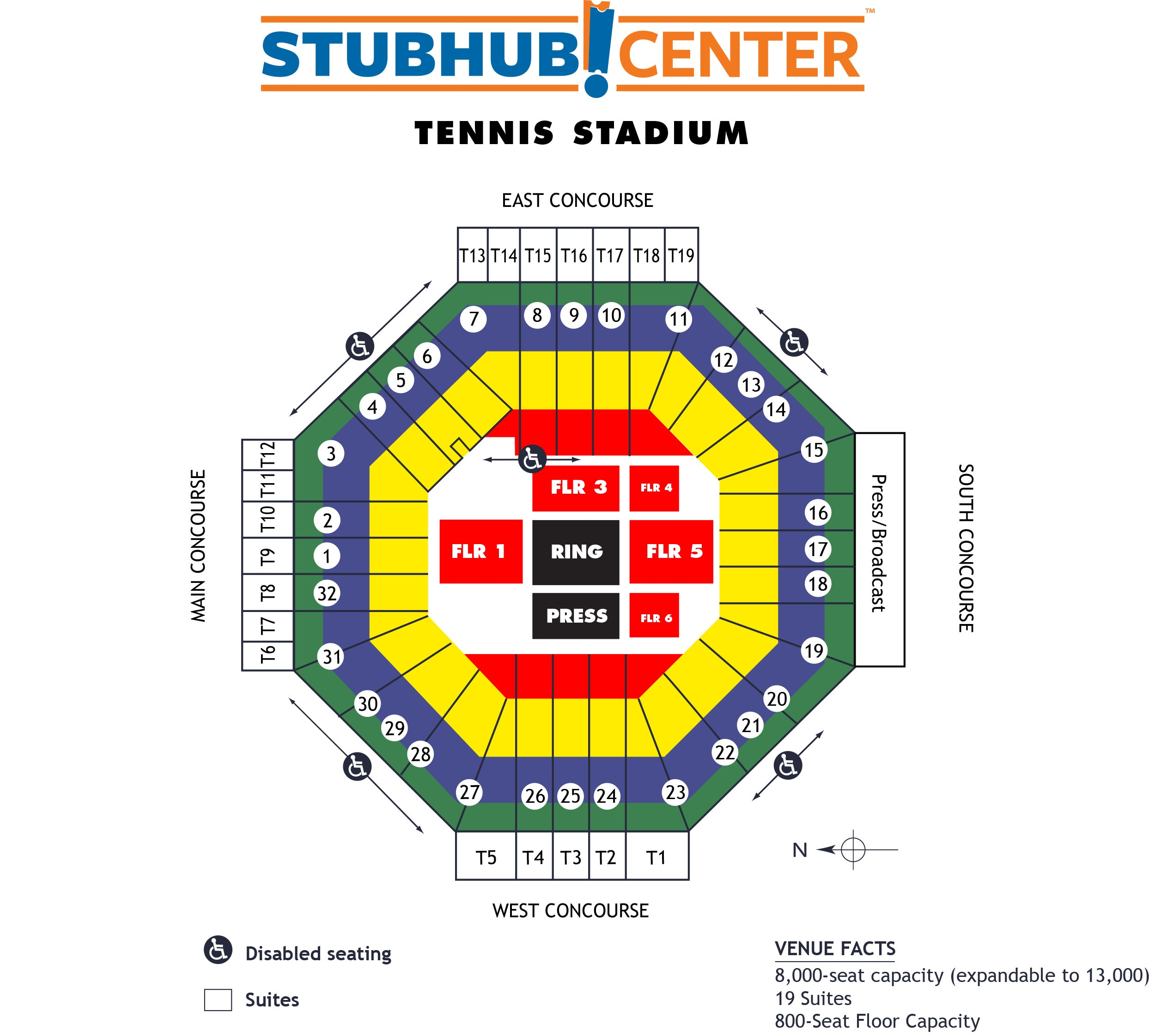 Stubhub Center Map Boxing | StubHub Center Stubhub Center Map