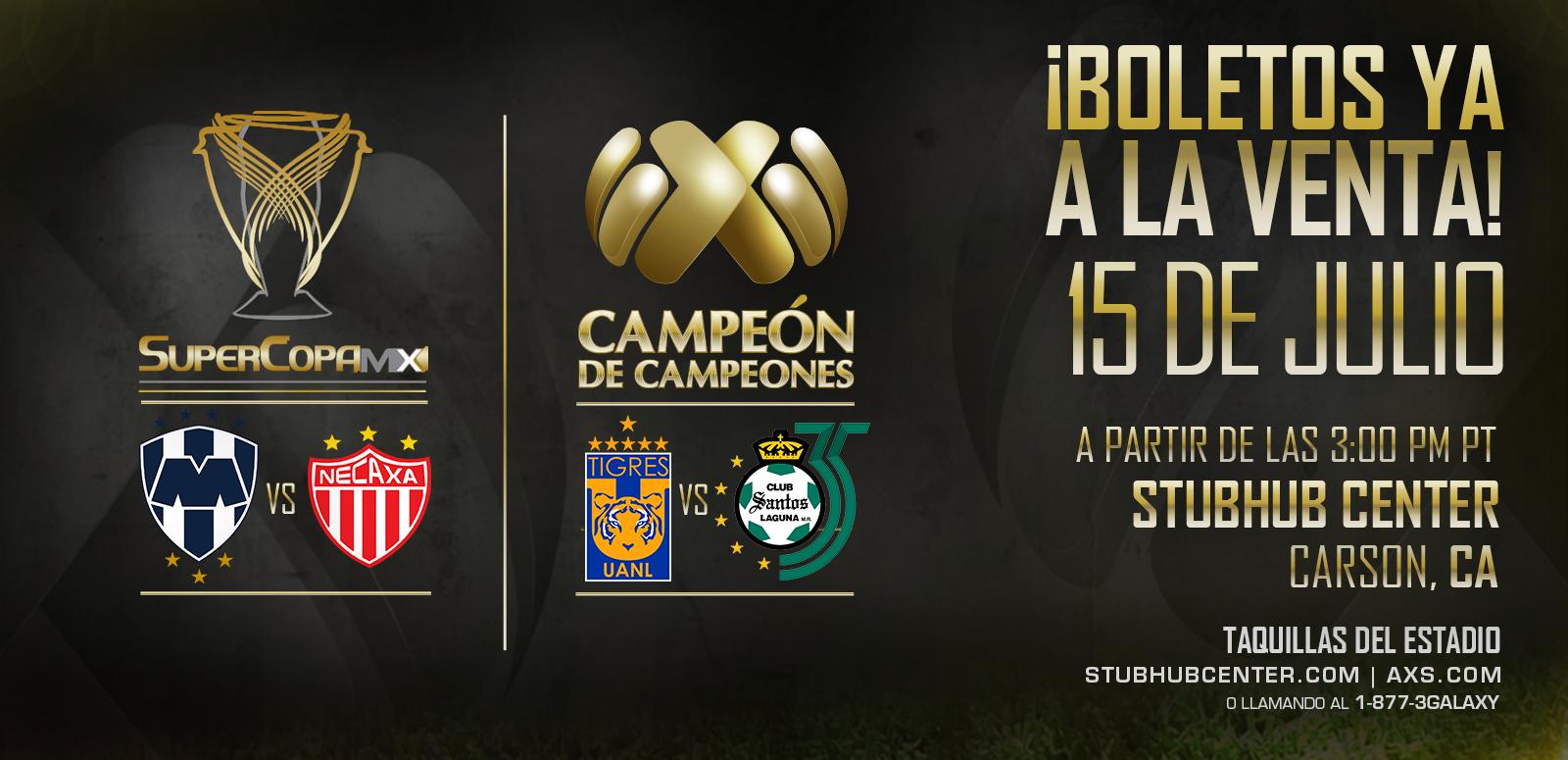 Super Copa MX & Campeon de Campeones 2018