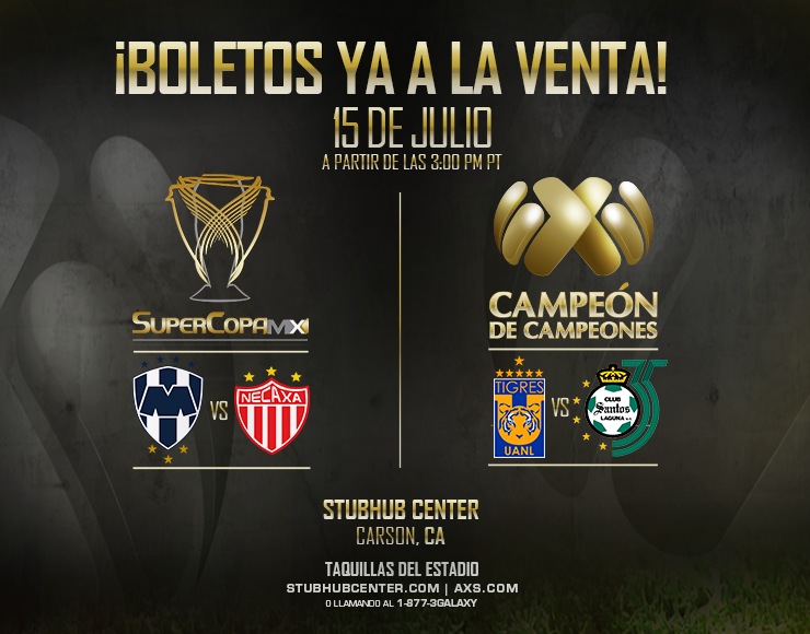 More Info for Super Copa MX & Campeon de Campeones 2018