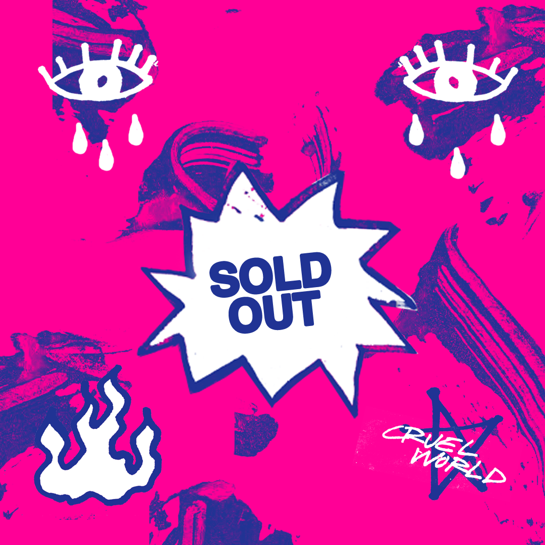 Tickets to Cruel World presented by Goldenvoice sold out