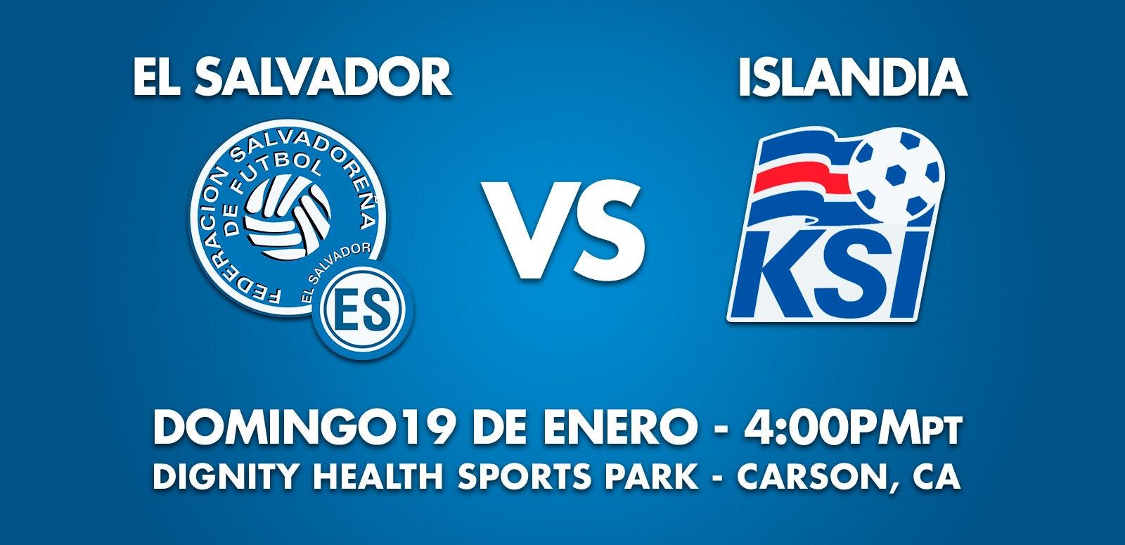 Soccer: El Salvador vs. Iceland