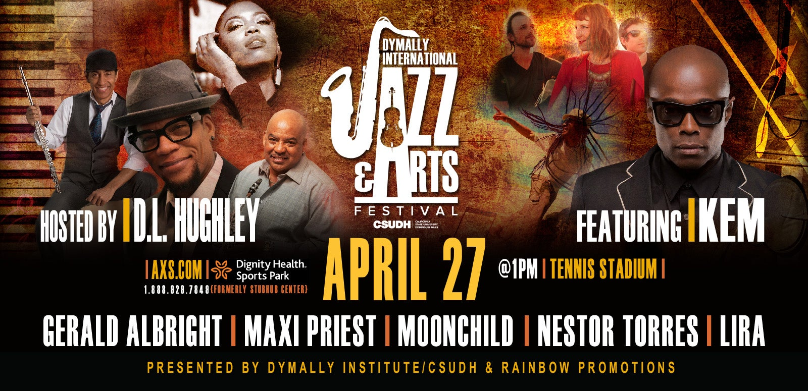 Dymally International Jazz Arts Festival