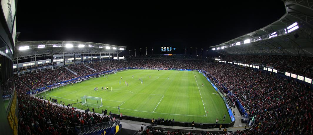 StubHub Center Monthly Calendar: September 2018