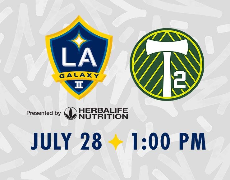 More Info for LA Galaxy II vs. Portland Timbers 2
