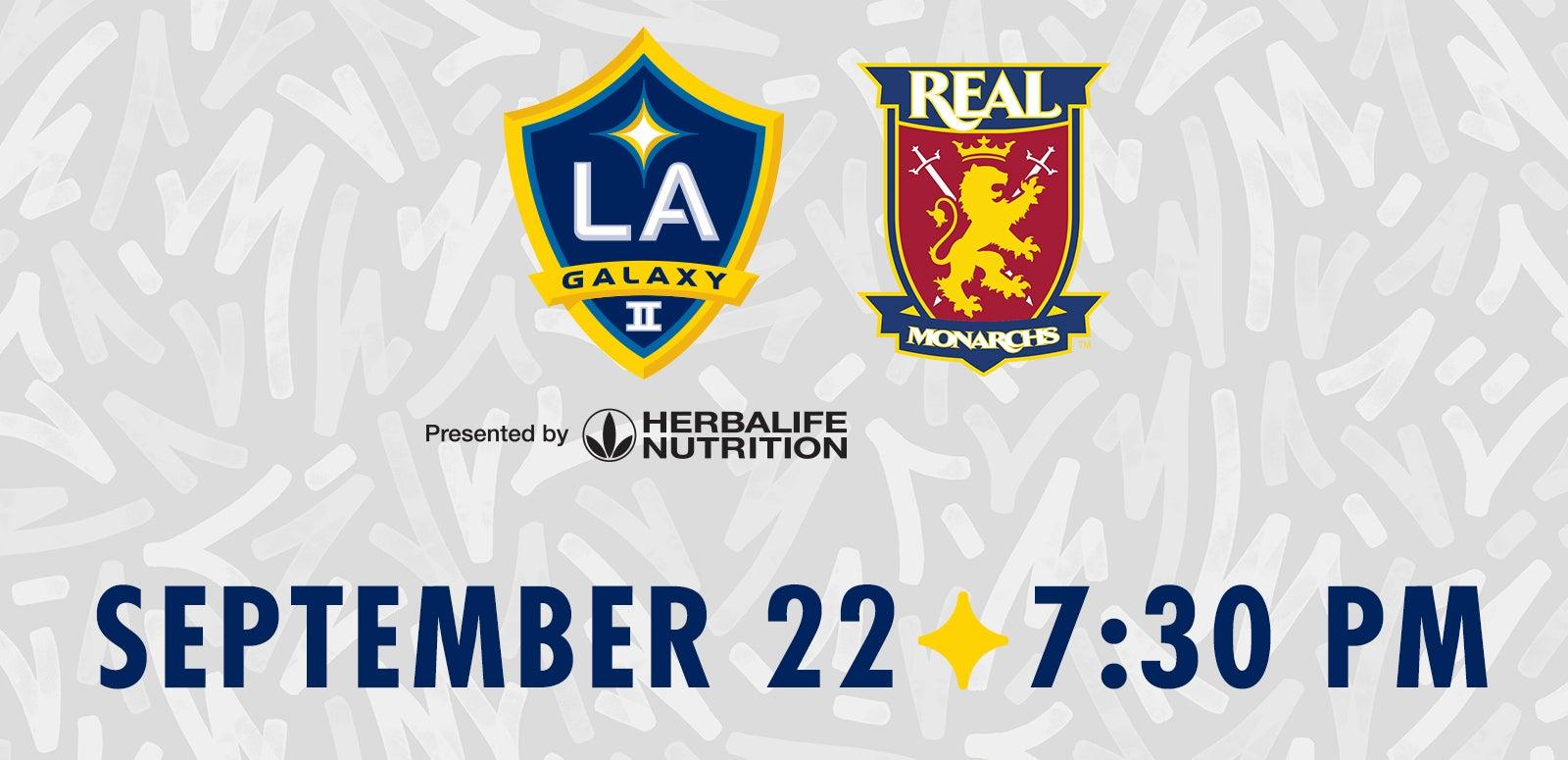 LA Galaxy II vs. Real Monarchs SLC