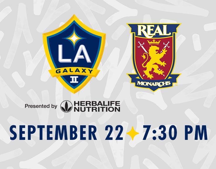 More Info for LA Galaxy II vs. Real Monarchs SLC