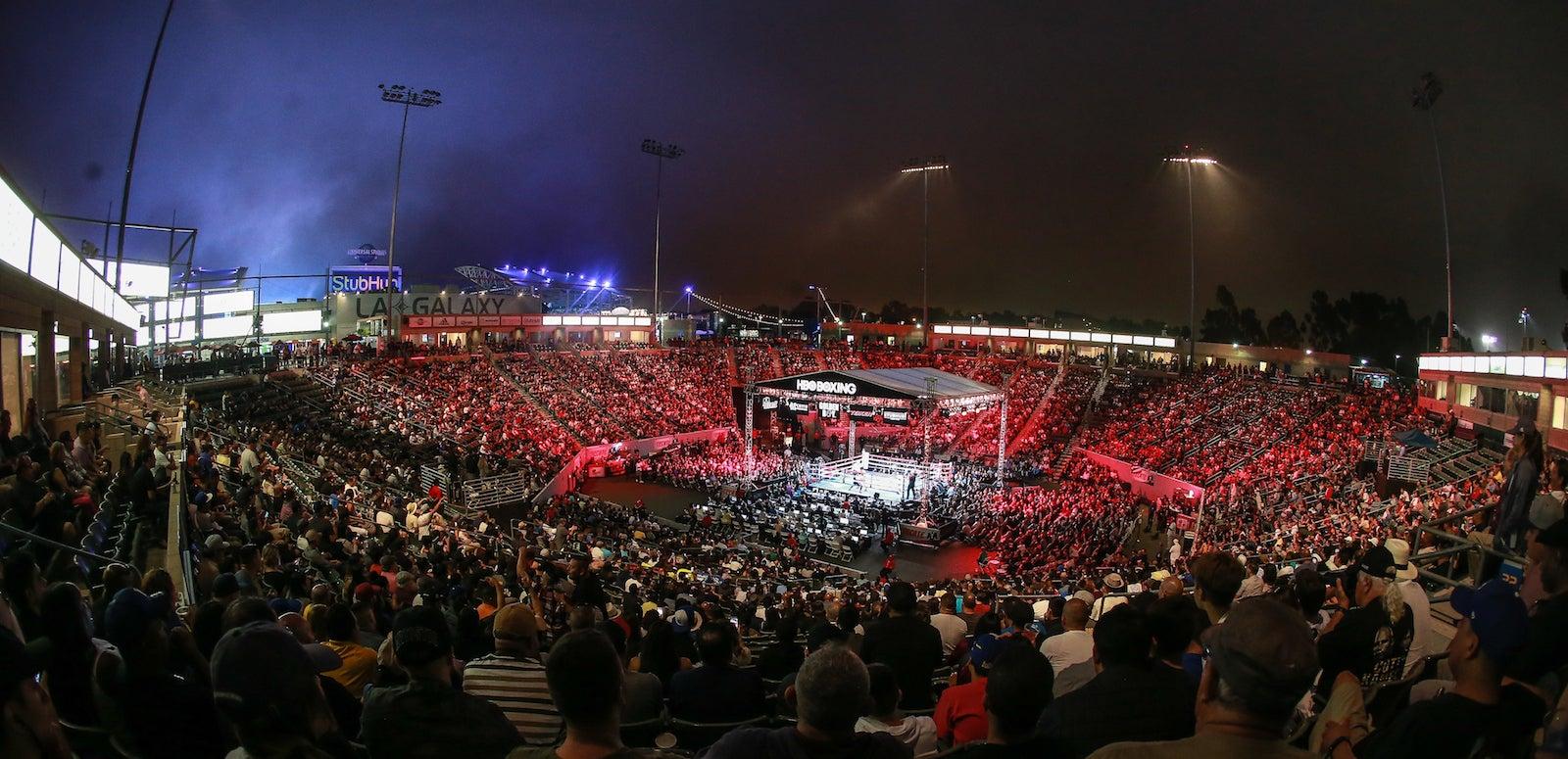 Boxing Stadium | Dignity Health Sports Park