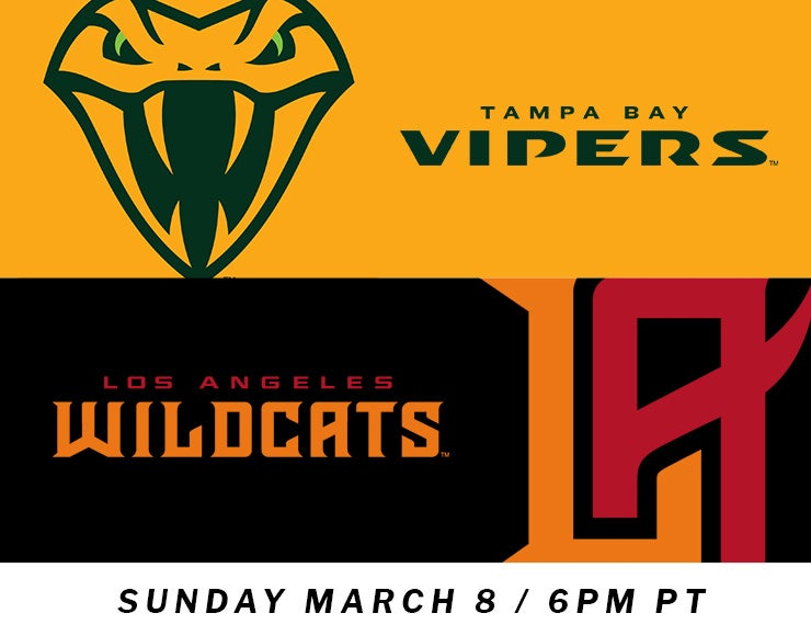 More Info for XFL: Los Angeles Wildcats vs. Tampa Bay Vipers
