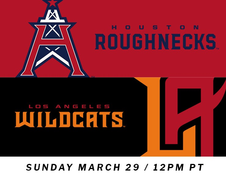 More Info for XFL: Los Angeles Wildcats vs. Houston Roughnecks