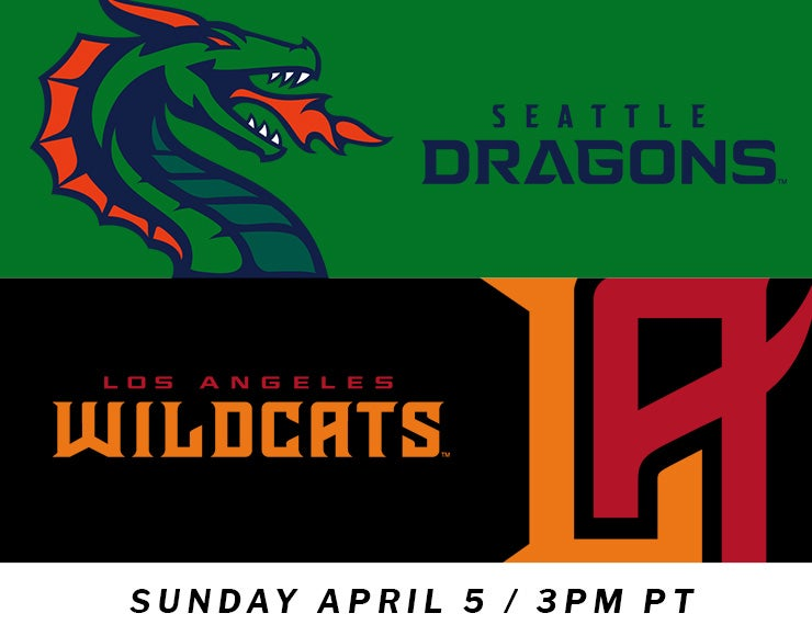 More Info for XFL: Los Angeles Wildcats vs. Seattle Dragons