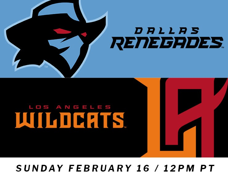XFL: Los Angeles Wildcats vs. Dallas Renegades