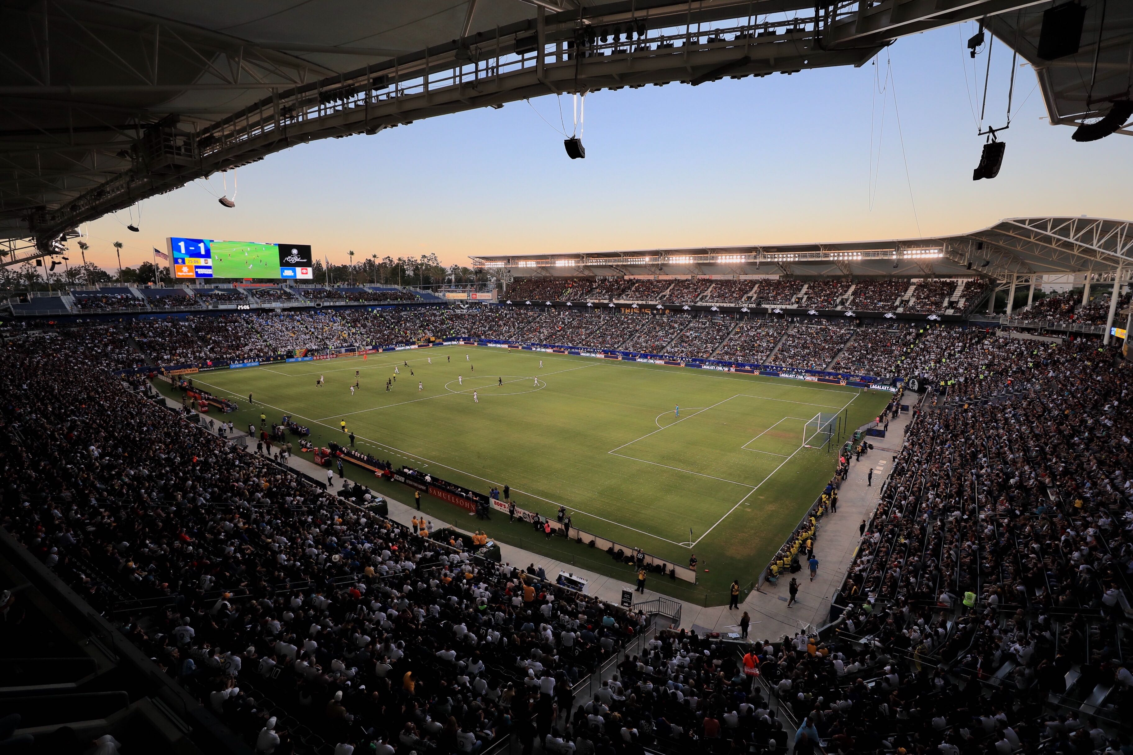 More Info for Dignity Health Sports Park completes record-setting week featuring 15 events and eight major sporting events