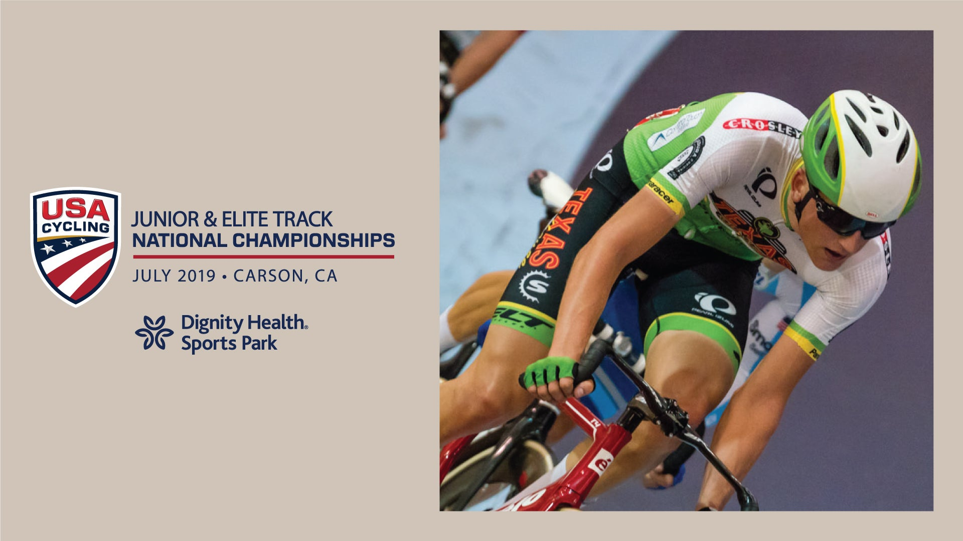 Dignity Health Sports Park set to host USA Cycling Elite, Junior, and Para-cycling Track National Championships this weekend