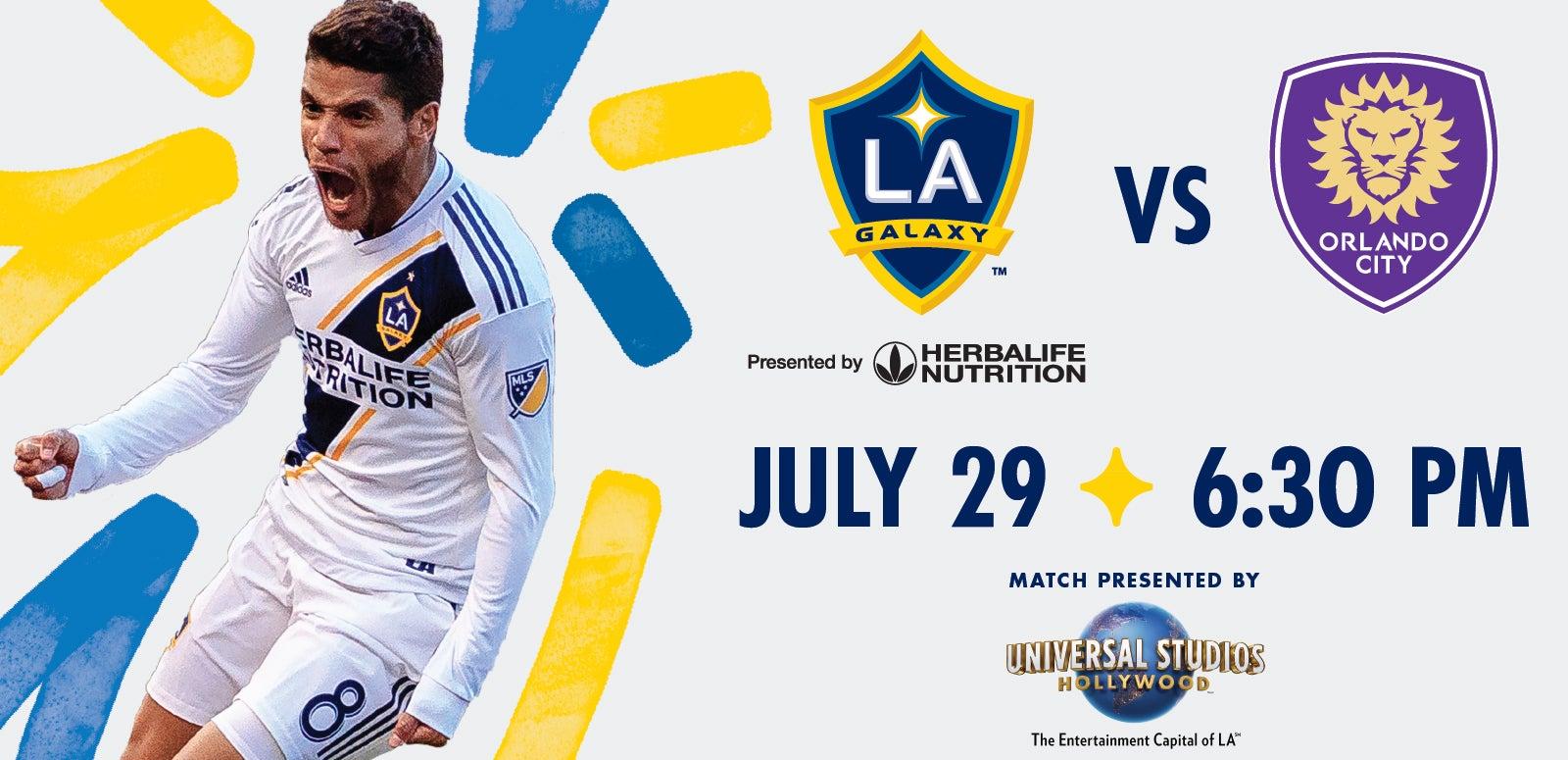 LA Galaxy vs. Orlando City SC