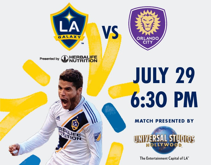 More Info for LA Galaxy vs. Orlando City SC