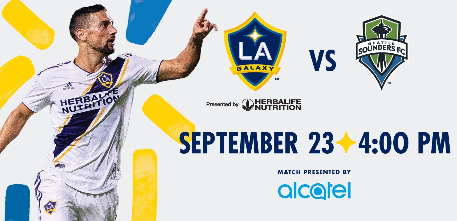 LA Galaxy vs. Seattle Sounders FC