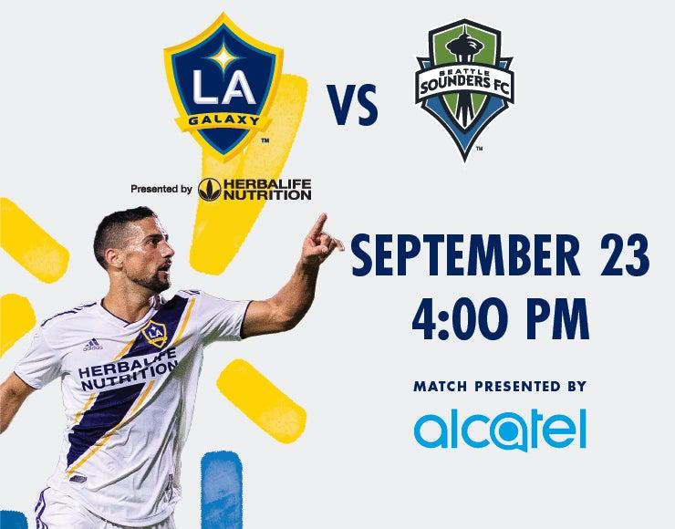 More Info for LA Galaxy vs. Seattle Sounders FC