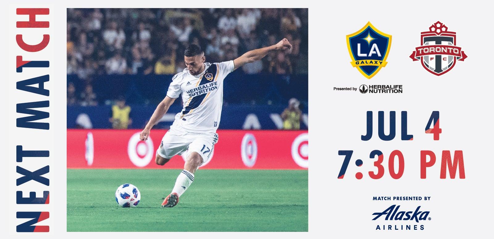 LA Galaxy vs. Toronto FC