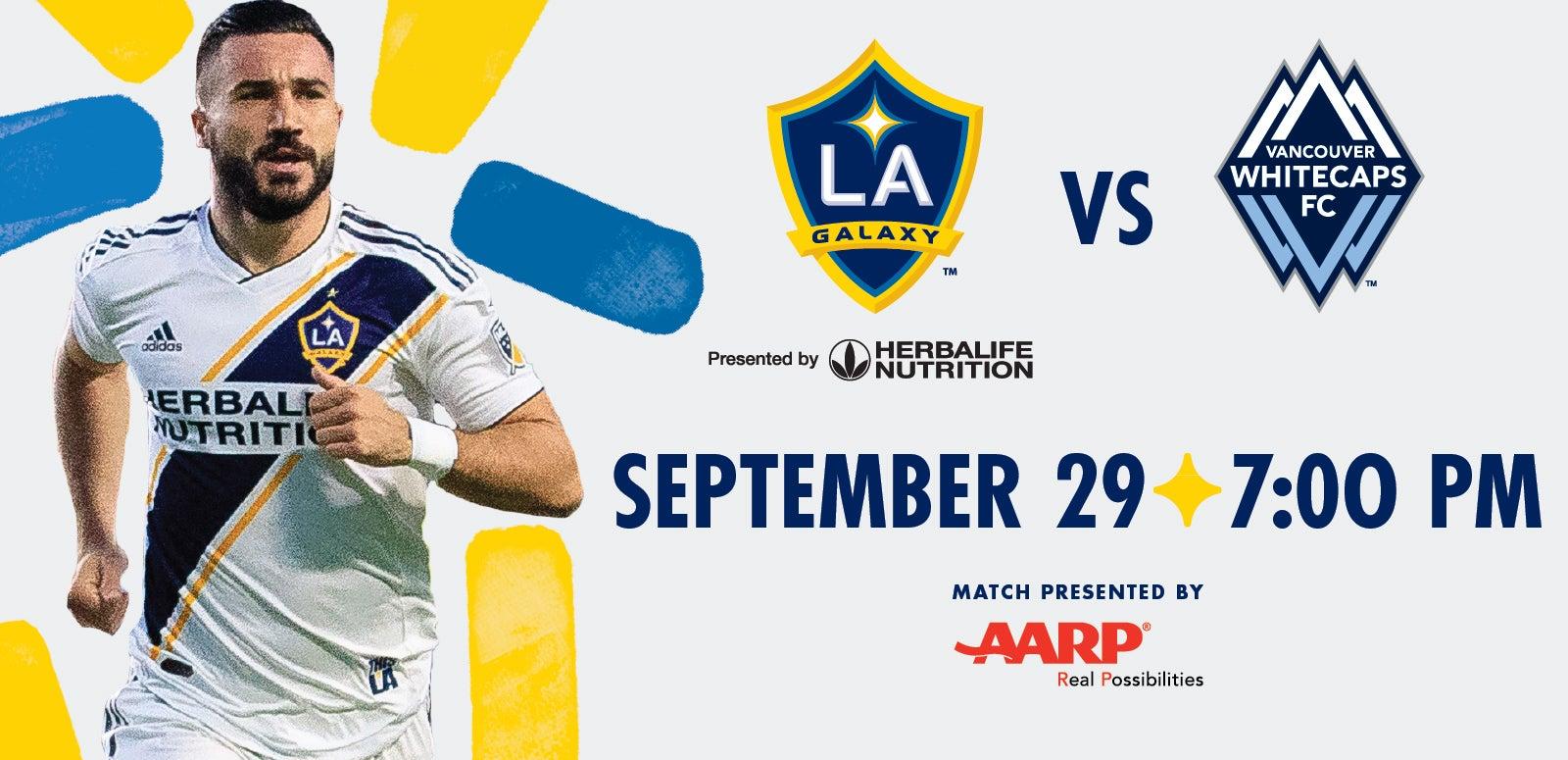 LA Galaxy vs. Vancouver Whitecaps FC